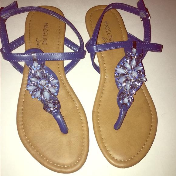 Madeline Stuart Shoes - Madeline Stuart Mseros rhinestone sandal